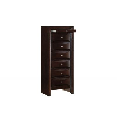 7 Drawer Lingerie Chest in Cappuccino - G1525-LC
