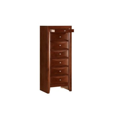 7 Drawer Lingerie Chest in Cherry - G1550-LC