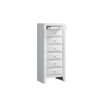 7 Drawer Lingerie Chest in White - G1570-LC