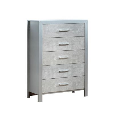 5- Drawer Chest in Silver - G4200-CH