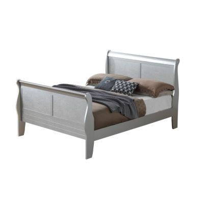 Randa Queen Bed In Silver Champagne - G6500A-QB
