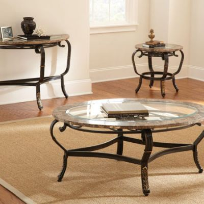 Gallinari Brown Marble Coffee table - GN300C