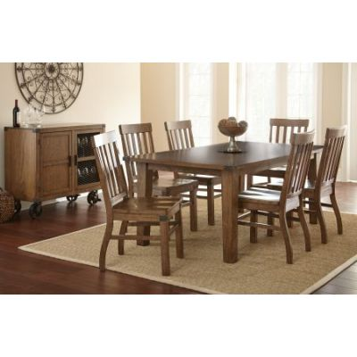 Hailee Dining Table in Antique Oak Finish (Table Only) - HA500T