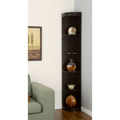 Waren 5 Shelf Corner Display Case - ID-10370C