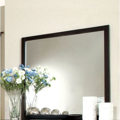 Noriah Wood Framed Mirror - IDF-7088M
