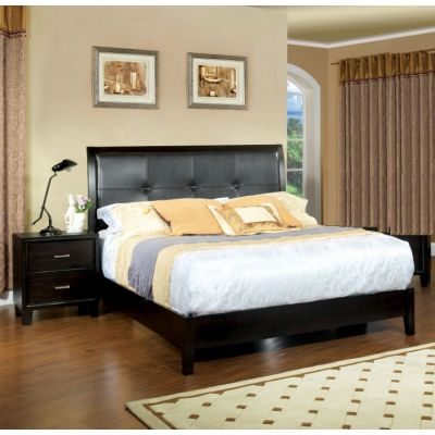 Noriah 2 Piece Queen Bedroom Set in Espresso - 001611_Kit