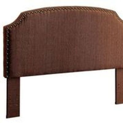 Afynna Camelback Twin Headboard in Brown - IDF-7880BR-HB-T