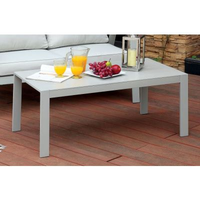 Arsey Aluminum Frame Outdoor Patio Coffee Table - IDF-OC1765-C