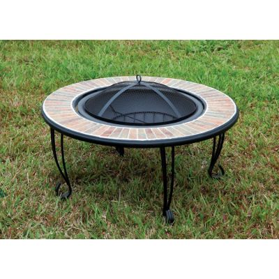 Drea Outdoor Fire Pit with Spark Guard - IDF-OF1814