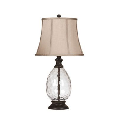 Olivia Glass Table Lamp (Set of 2) - L440234