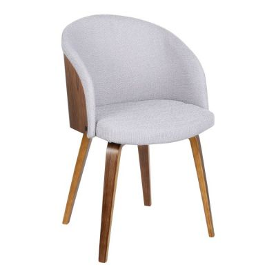 Alpine Dining Chair in Gray Fabric - LCALCHWAGREY
