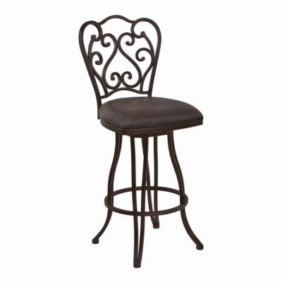 Celeste 30'' Bar Height Swivel Barstool in Bandero Espresso - LCCEBAES30
