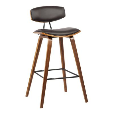 Fox 26'' Counter Height Barstool in Brown - LCFOBAWABR26