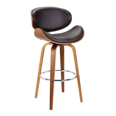 Solvang 26'' Counter Height Barstool in Brown - LCSLBABRWA26