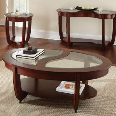 London End Table Brown Finish - LN250E