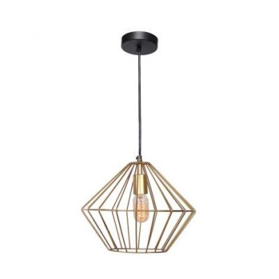Empire Ceiling Light in Gold powder coating - VEN047-LPC137