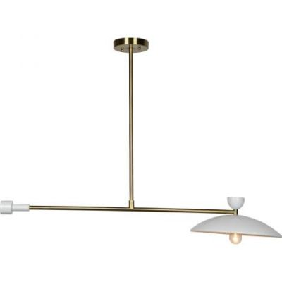 Helical Ceiling Light in Polished Brass - VEN047-LPC4072