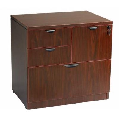 Combo Lateral File in Mahogany 31*22 - N114-M