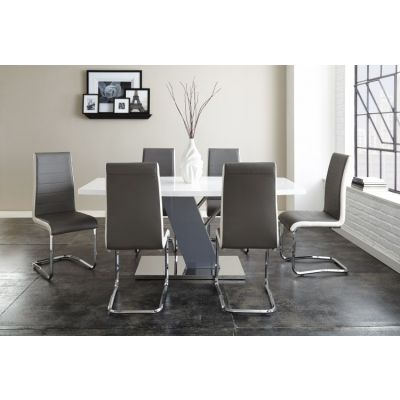 Nevada 7 piece Dining Set in Two Tone Finish - 001642_Kit