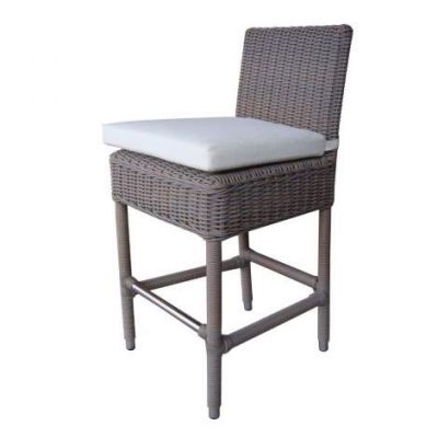 Outdoor Boca Counterstool - With White Outdoor Cushion - OL-BOC16-ECO