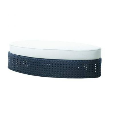 Tides Ottoman With Cushion - OL-TID02