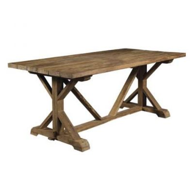 Xena Reclaimed Outdoor Teak Dining Table - OL-XEN13-79R