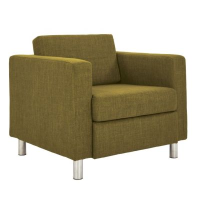 Pacific Arm Chair In Green Fabric - PAC51-M17