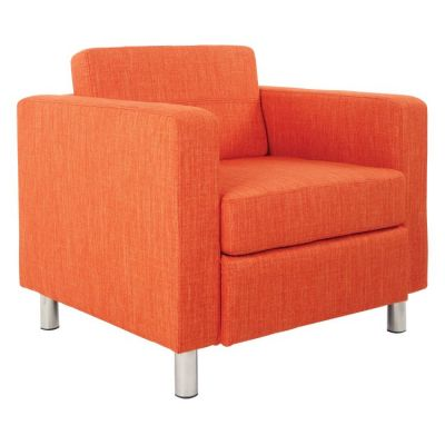 Pacific Arm Chair In Tangerine Fabric - PAC51-M5
