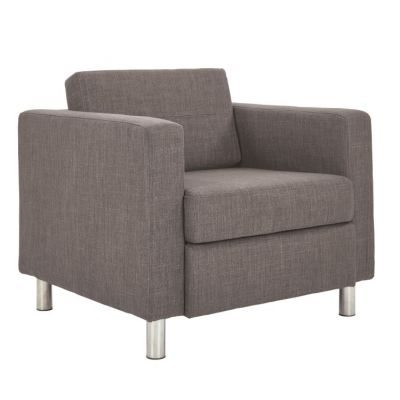 Pacific Arm Chair In Cement Fabric - PAC51-M59