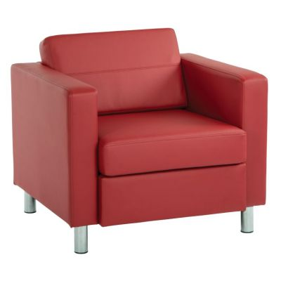 Pacific Armchair in Lipstick - PAC51-R100
