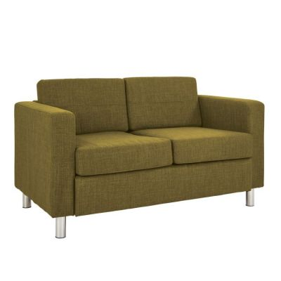 Pacific LoveSeat In Green Fabric - PAC52-M17