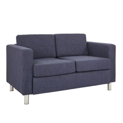 Pacific LoveSeat In Navy Fabric - PAC52-M19