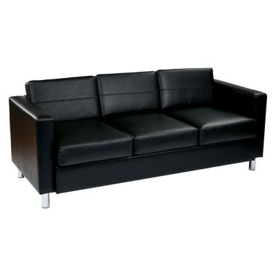 Pacific Sofa Couch in Black - PAC53-V18