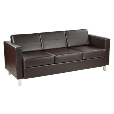 Pacific Sofa Couch in Espresso - PAC53-V34