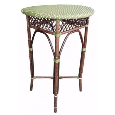 Paris Bistro Bar Table - Green - PBA10-27-5-GRN