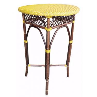 Paris Bistro Bar Table - Yellow - PBA10-27-5-YEL