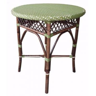 Paris Bistro Dining Table - Green - PBA13-27-5-GRN