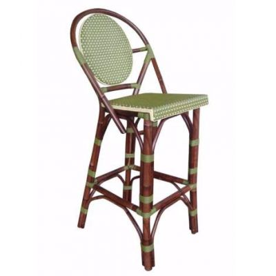 Paris Bistro Barstool - Green - PBA14-GRN