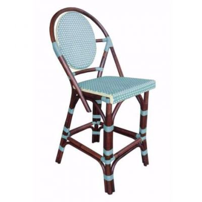 Paris Bistro Counterstool - Blue - PBA16-BLU