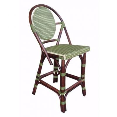 Paris Bistro Counterstool - Green - PBA16-GRN
