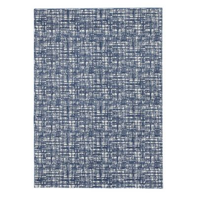 Norris Large Rug in Blue & White - R400811