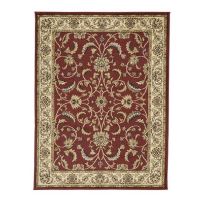 Jamirah Large Rug in Red & Brown - R403021