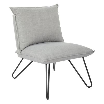 Riverdale Chair in Dove with Black Legs - RVR51-M24