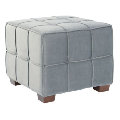Sheldon Tufted Ottoman in Moonlit - SDN-V8