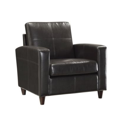Club Chair With Espresso Finish Legs - SL2811-EC1