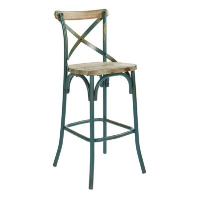 Somerset 30'' Bar Stool in Antique Tourquoise - SMR30-ATQ