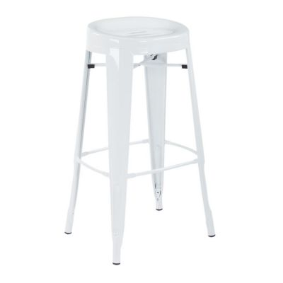 Stockton 30'' Barstool in White(Set of 2) - STO30A2-11