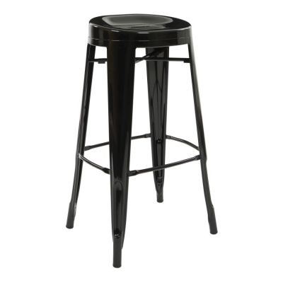 Stockton 30'' Barstool in Black(Set of 2) - STO30A2-3