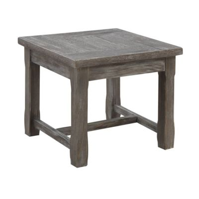 Paladin End Table in Rustic Charcoal - T3501