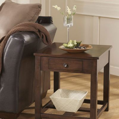 Marion Rectangular End Table - T477-3